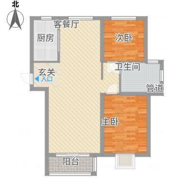 君泰・中央公园项目96.62㎡君泰・中央公园项目户型图E户型3室2厅1卫1厨户型3室2厅1卫1厨-副