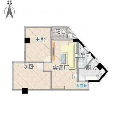 广州_馨怡花苑_单阳台3