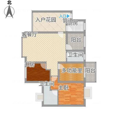 禹洲领海7号楼3-31层奇数层01、06单元户型2室2厅2卫1厨-副本