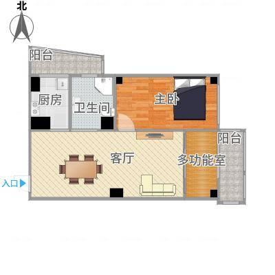 大连-葵英街-衣帽间,次卧榻榻米,明厅