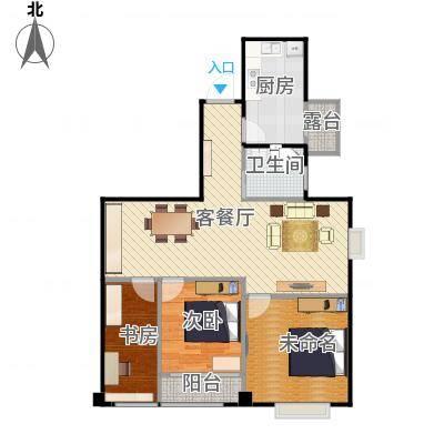 宁波_万达广场公寓_增加阳台-副本-副本