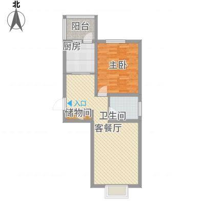 海逸长洲恋海园70.00㎡面积7000m户型-副本