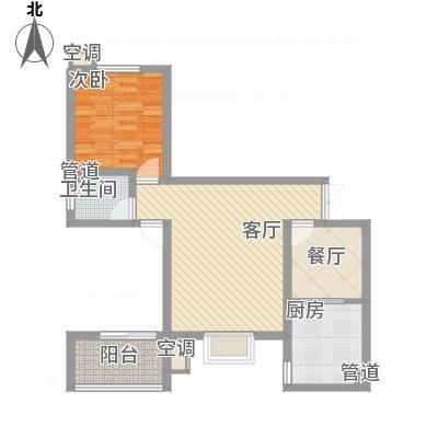 蓝波湾95.26㎡蓝波湾户型图1#C户型2室2厅1卫1厨户型2室2厅1卫1厨-副本