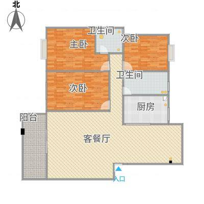 东江明珠39#1-402三室两厅