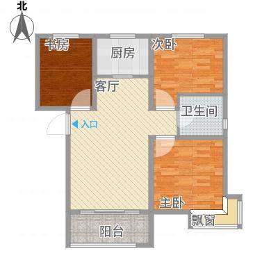 沈阳碧桂园银河城-J591户型94平-设计方案-副本