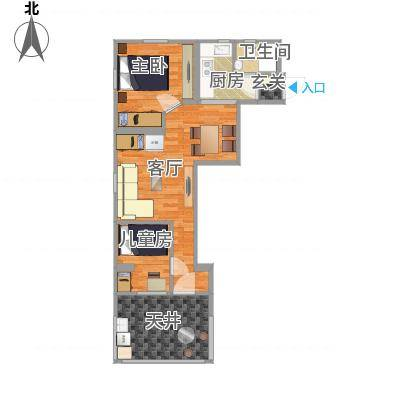 上海_上钢5村2房实际尺寸_2016-02-14-1520-副本-副本