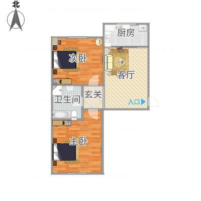 大连_前革博爱老年公寓B户型