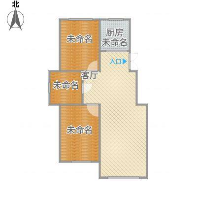 85平A户型两室一厅