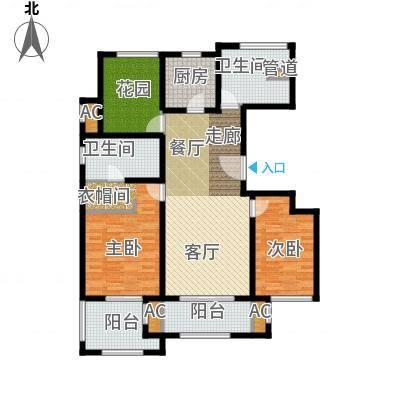 万科长风别墅125.00㎡长风公寓12面积12500m户型-副本