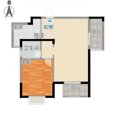 光谷地产梅花坞123.33㎡B1号楼B2户型3室2厅2卫1厨-副本