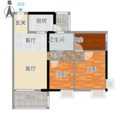 青春11号楼标准层户型9室4厅7卫4厨-副本-副本