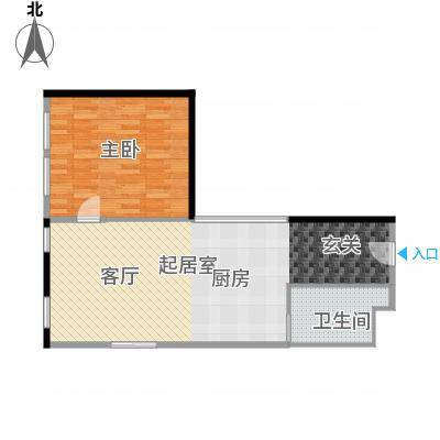 CUV国际公寓89.67㎡R户型10室-副本