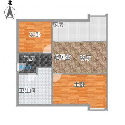 CUV国际公寓95.15㎡B1户型10室-副本