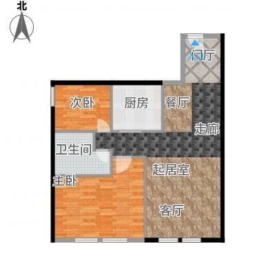 CUV国际公寓103.58㎡A户型10室-副本