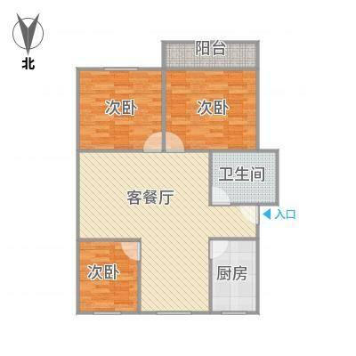 建发宿舍5梯02户型