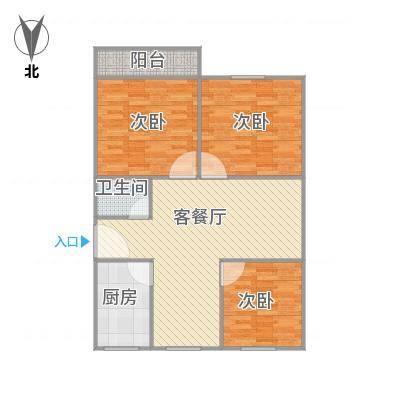 建发宿舍3梯01户型