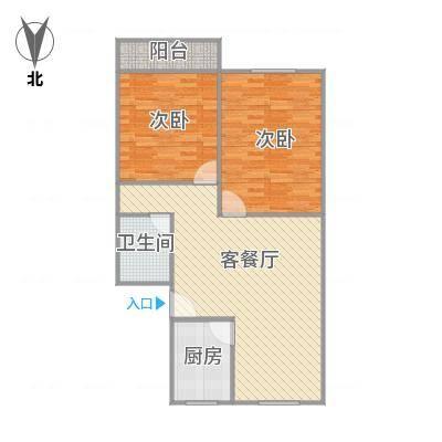 建发宿舍6梯01户型