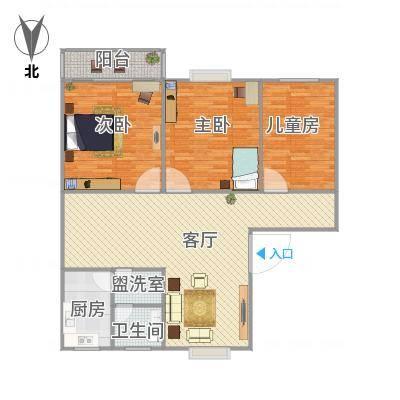 连云港_双湖公寓122㎡_2016-02-25-1803