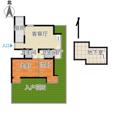 沈阳_水木清华_124平一楼带地下室花园