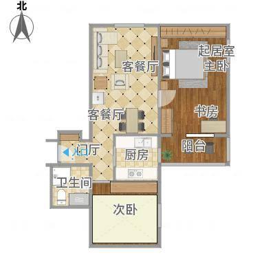 北京-车公庄北里甲22、23号楼-01号设计方案