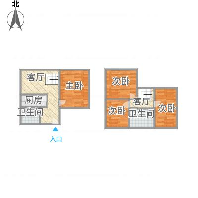 上海_金汇花园一街坊顶楼复式_2016-02-28-1106