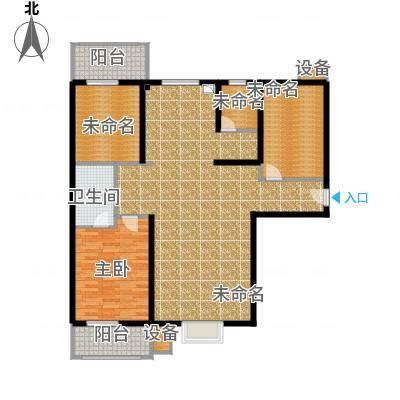金沃向阳城134.90㎡C1户型三室两厅两卫户型3室2厅2卫-副本