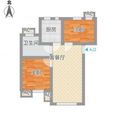 祈福新村绿怡居53.00㎡户面积5300m户型-副本