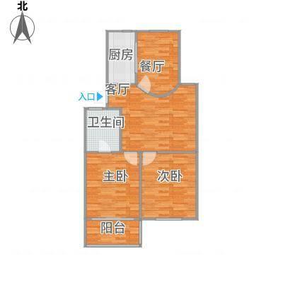百水家园85平米2室2厅-副本