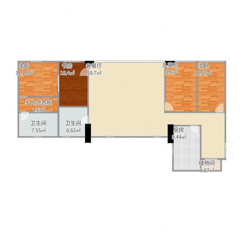 广州_新大厦国际公寓_b-副本户型图大全,装修户型图