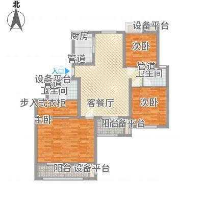 金鼎湾国际151.00㎡金鼎湾国际户型图I户型3室2厅2卫1厨户型3室2厅2卫1厨-副本