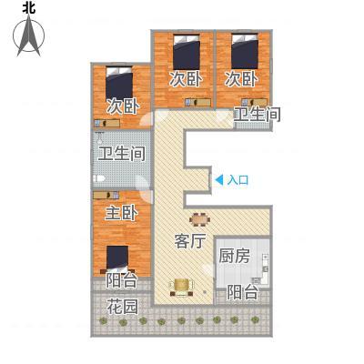 上海_虹桥城市花园_2016-03-01-1350