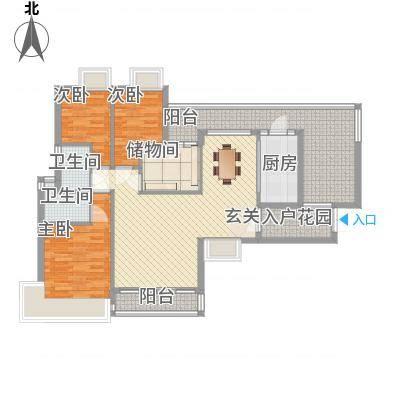 新鹰国际14.17㎡C-1户型4室2厅2卫1厨-副本