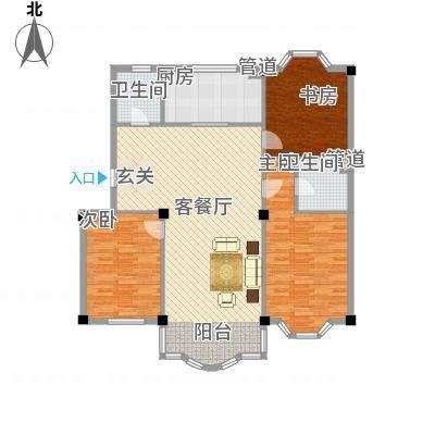 东兴苑二期a户型-副本