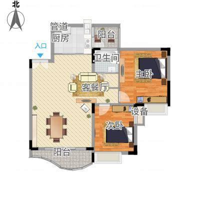 天府长城(高新)83.37㎡2室2厅1卫1厨-副本
