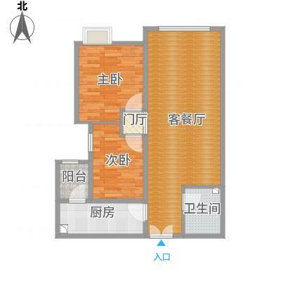 尚郡90.5方两室两厅一厨一卫