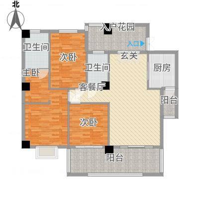 豪岗花园岗桥大厦豪岗花园岗桥大厦户型图3室2厅户型图3室2厅2卫1厨户型3室2厅2卫1厨-副本