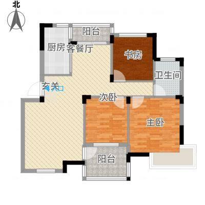 金水童话名苑15.00㎡C1户型5室4厅1卫1厨-副本