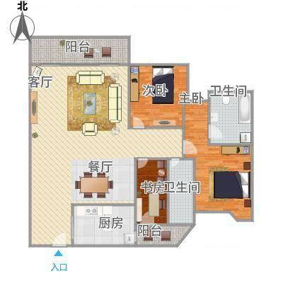 雍逸廷A区的户型图-副本
