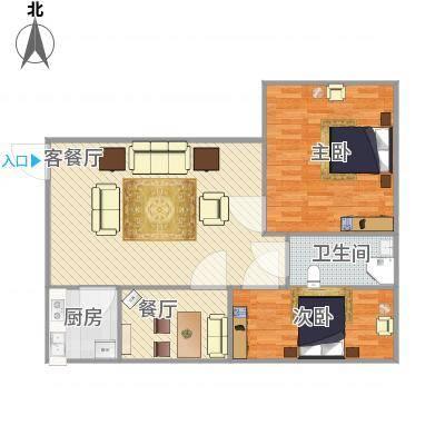 上海_石泉苑2室2厅1卫_2016-03-05-1400