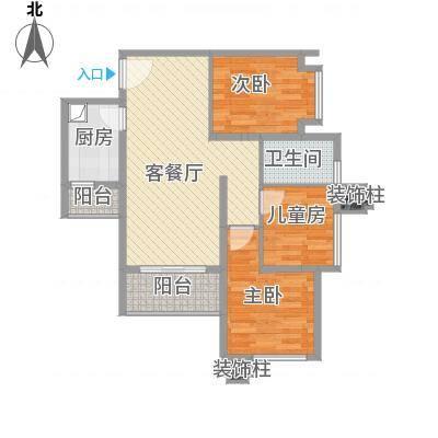 深圳_海棠阁3栋三房二厅09(乙)户型_2016-01-16-2203
