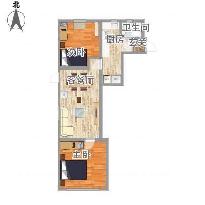 上海_上钢5村2房实际尺寸_2016-02-14-1520-副本