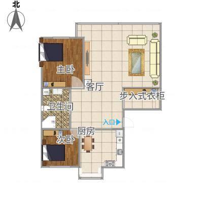100平两室两厅-副本