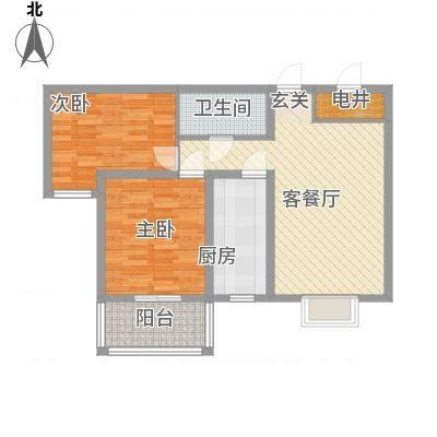天阔逸城6.88㎡5#楼户型-副本