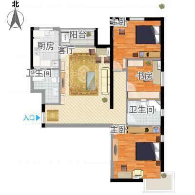 三室两厅两卫的装修-副本