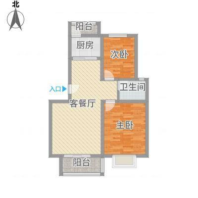 正康花园90.00㎡正康花园2室户型2室-副本