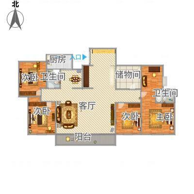 信阳_浉河一号1+1合体房_2016-03-08-1514
