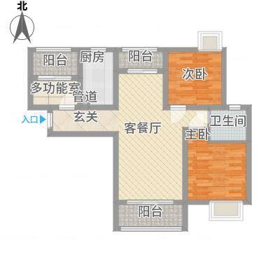 鑫苑世家90.00㎡B3户型-副本