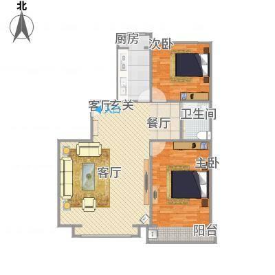 102平米两室两厅-副本