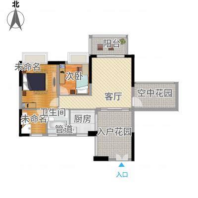 广和・澳海城88.12㎡7号楼2座C04-05单元户型-副本