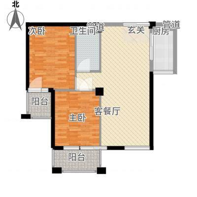 中海华庭别墅中海华庭别墅2室户型图2室户型2室-副本
